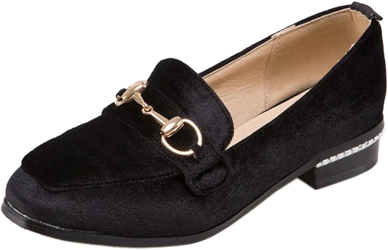 TAOFFEN Women's Spring Slip On Flat shoes