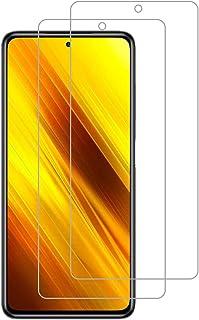 【2枚セット】Redmi Note 9S / Poco X3 NFC ガラスフィルム [ZXZone] Redmi Note 9S フィルム 液晶保護フィルム 2.5D 高透過率 硬度9H スクラッチ防止 気泡ゼロ (クリア)