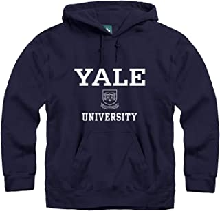 Ivysport Hoodie Sweatshirt, Premium Cotton, Classic Arch with University Crest Logo