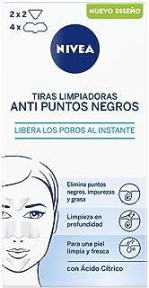 NIVEA - Tiras limpiadoras purificantes zona T para cara y rostro 6 unidades