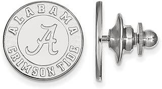 FB Jewels Sterling Silver LogoArt Florida State University Lapel Pin