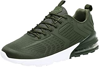 Wocoo Running Shoes Mens Sports Shoes Breathable Non-Slip Sneakers Training Fitness Gym Outdoor Shoe