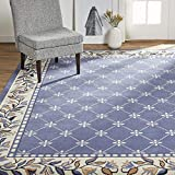 Home Dynamix Lyndhurst Sheraton Area Rug, 9'2'x12'5' Rectangle, Navy Blue