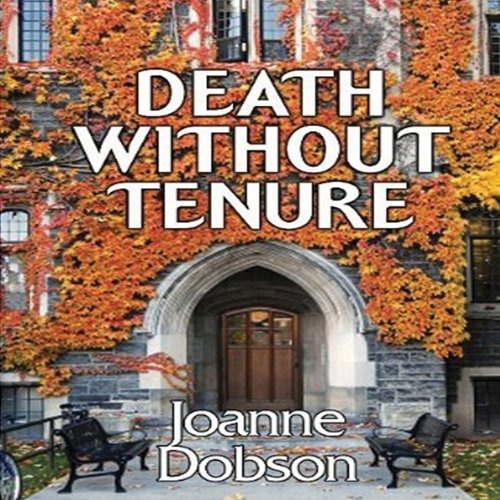 Death without Tenure audiobook cover art