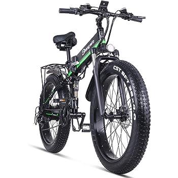 Shengmilo-MX01 Bicicleta eléctrica Plegable 1000w suspensión ...