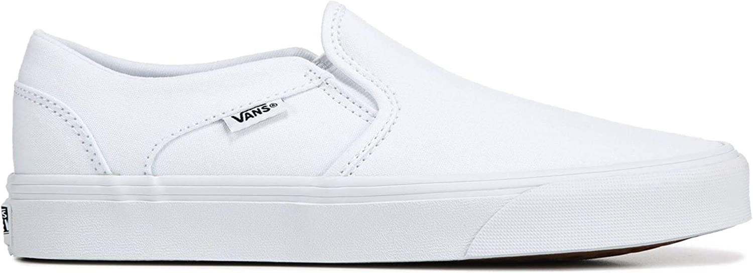 Vans WM Asher wit Sneakers Dames Size 39 White