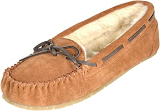 DREAM PAIRS Women's Sheepskin Slip On House Moccasin Slippers Loafers Shoes