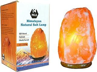 Lampara de Sal Natural del Himalaya de Mesa de 1 a 2 kg …