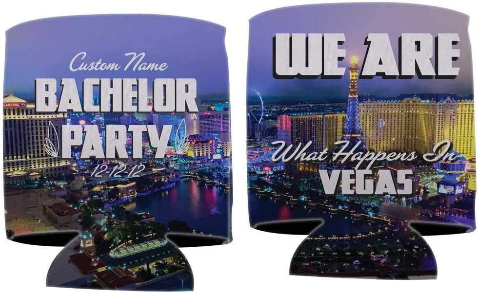 保障 バースデー 記念日 ギフト 贈物 お勧め 通販 Custom Bachelor Party Can Coo Vegas - Coolers