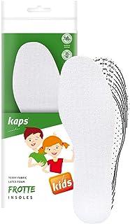 Kaps Badstof inlegzolen voor kinderen als extra zolen of reservezolen – stoot- en zweetabsorberende schoeninlegzolen – inl...