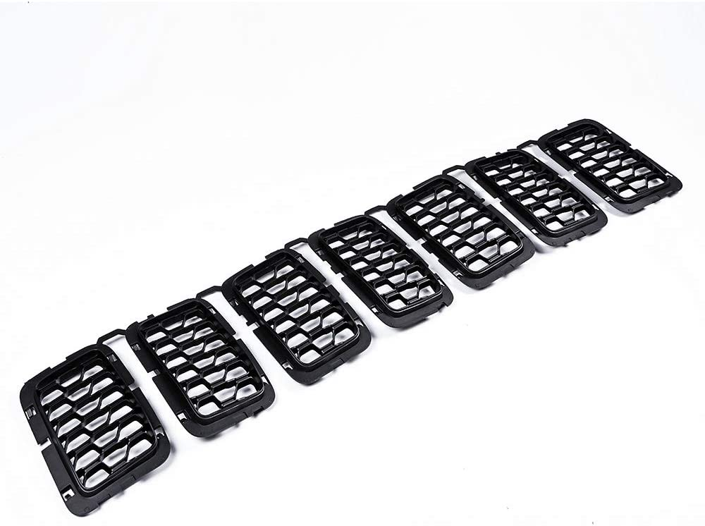 Astra-Depot Matte Black Front Upper Kit Inserts Com Grille Limited time cheap sale Grill NEW before selling ☆