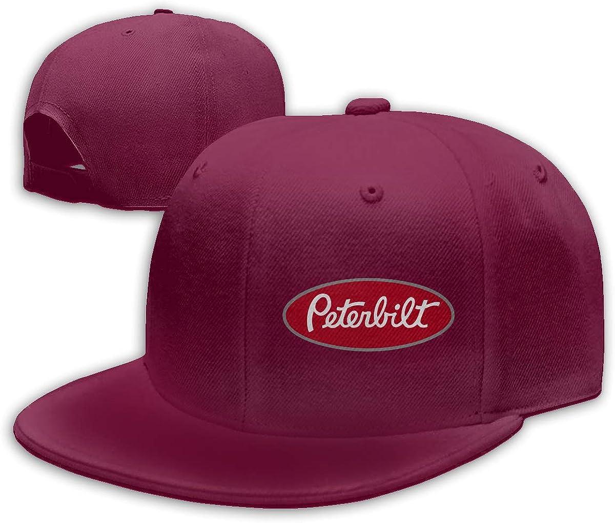 ZaHome Women's Peterbilt_red Cotton Baseball Snapback Hats Adjustable Structured Fit Cap