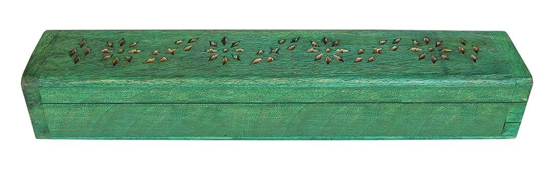 眠る位置づける反逆者laroom 13443 Porta-inciensos ふた グリーン
