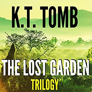 The Lost Garden Trilogy audiobook cover art