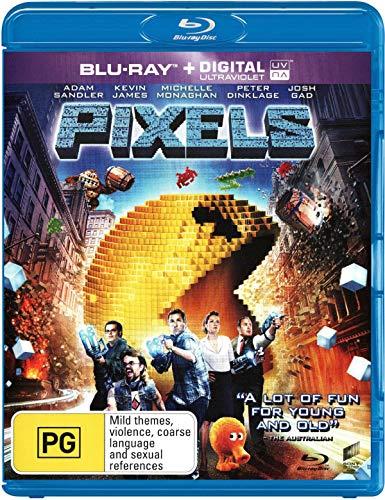 Pixels (Blu-ray/UV)