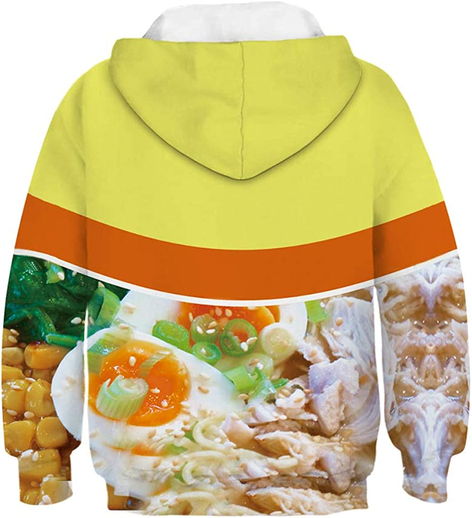 Boys Girls 3D Print Pullover Hoodies Sweatshirts Clothes Hoodie for Kids 4-16T