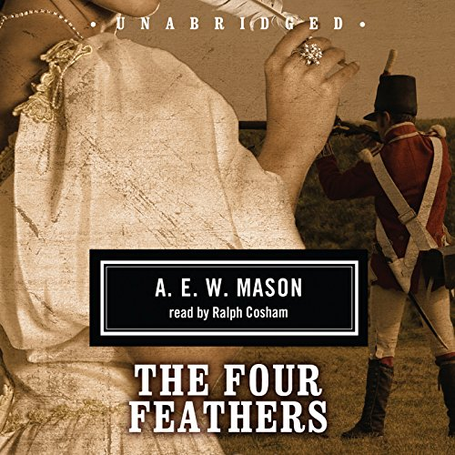 The Four Feathers audiobook cover art