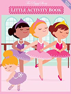 The Piggy Story 'Pretty Ballerinas' Little Activity Booklet for Kids on The Go