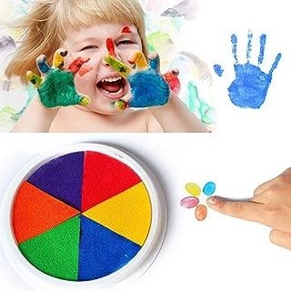 HOTUEEN Cartoon Washable DIY Ink Pad Kids Pigment Inks Toy Game Ink Pads