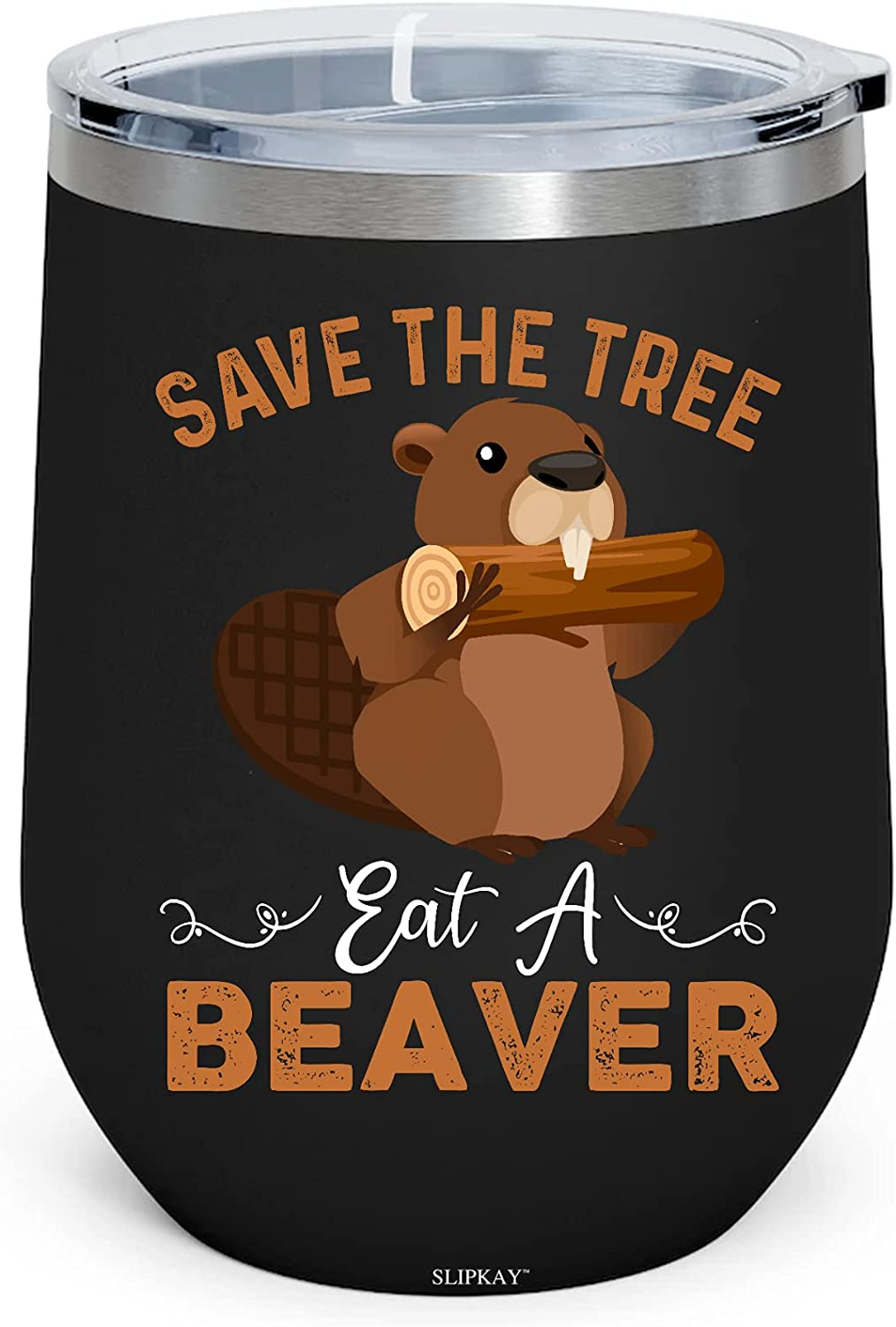 Save The Tree Eat Beaver Earth Insulated W Lover Planet 12oz Free shipping Topics on TV New