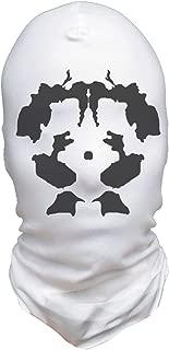 Moving Inkblot Masks Halloween Costume Mask Cosplay Psychotic Version White/Grey