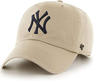 47Brand Kappe MLB New York Yankees Clean Up Gorra de béisbol Unisex Adulto