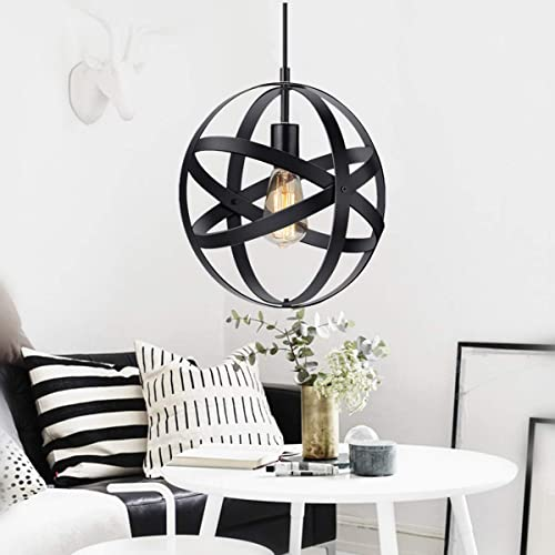 Entry lighting fixtures High Ceiling Kingso Industrial Metal Pendant Light Spherical Pendant Light Rustic Chandelier Vintage Hanging Cage Globe Lmnqyfrearisenclub Entryway Lighting Fixtures Amazoncom