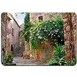 Photo de YANAIX Tapis de Bain,20 promenades romantiques sur la Costa Brava,Lavable de Haute qualité Absorbant Antidérapant 75X45cm