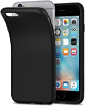 Spigen Liquid Crystal Designed for Apple iPhone 6s Case (2015) / Designed for iPhone 6 Case (2015) - Matte Black