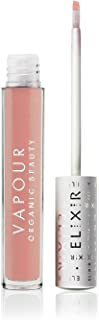 Vapour Organic Beauty Elixir Lip Gloss, Honor-Sheer Golden Pink, 0.13 Ounce