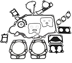 KIPA Completer Engine Rebuild Gasket set for KAWASAKI Mule 2500 2510 2520 3000 3010 3020 4000 4010 KAF620 UTV, Fit for FD620 FD620D FD661 FD661D John Deere Mower Tractor 425 445 F911 6X4 Gator GX345