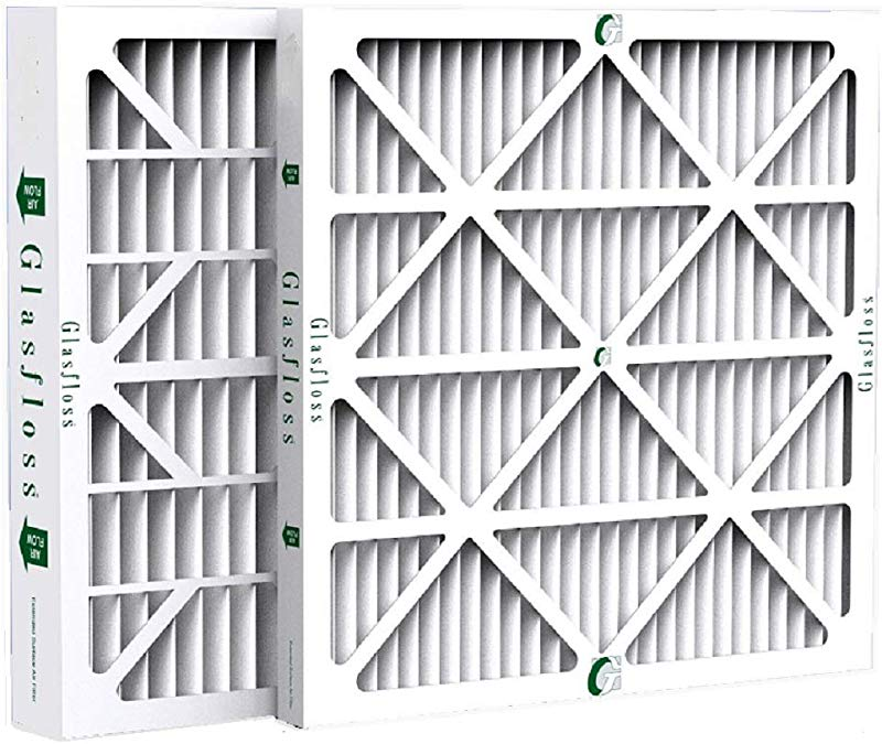 Glasfloss ZL 20x20x2 MERV 10 AC Furnace Filters 12 Pack Actual Size 19 1 2 X 19 1 2 X 1 3 4