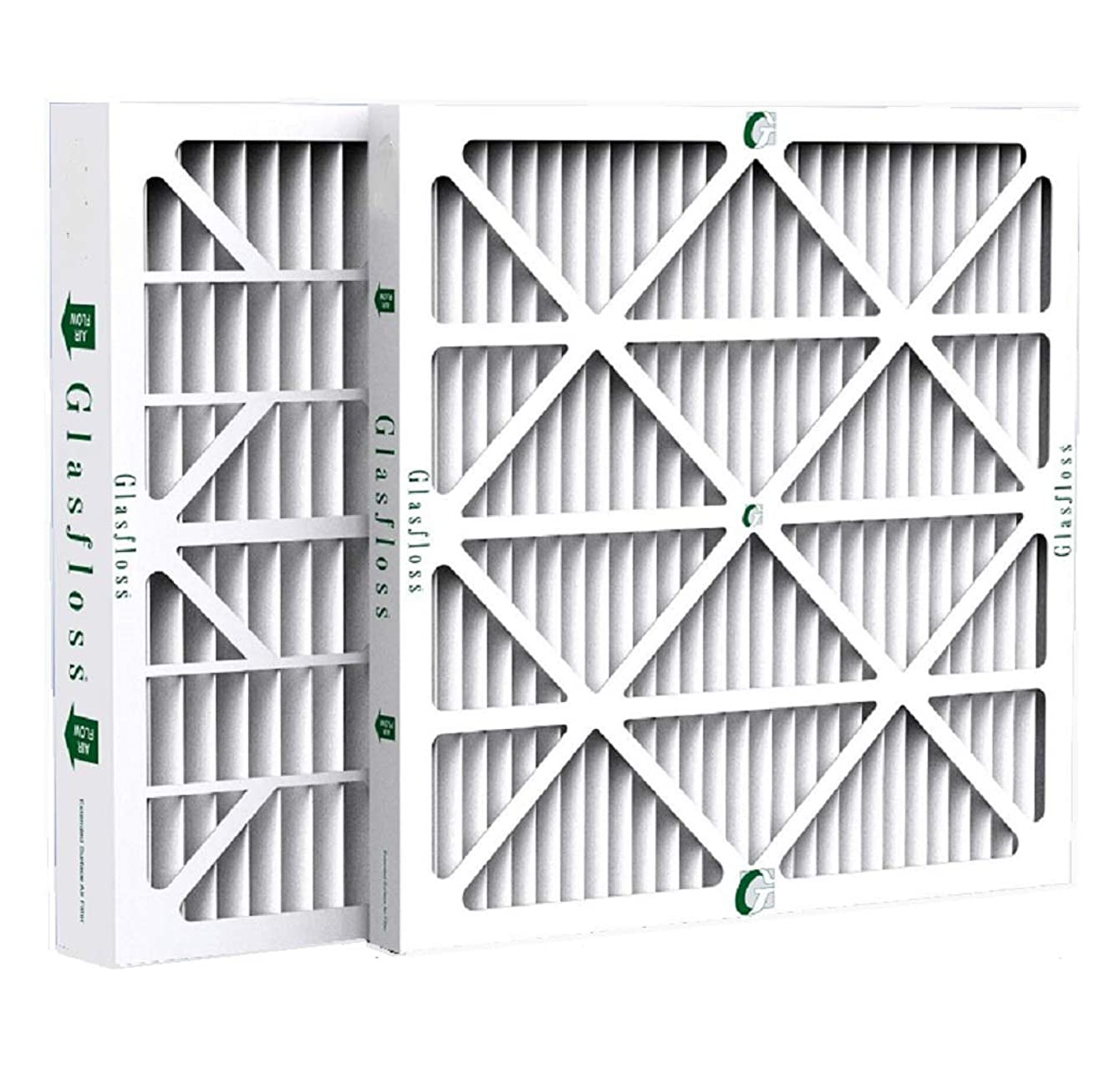 Glasfloss ZL16x20x4 MERV 10 AC & Furnace Filters. 6 Pack. Actual Size: 15-1/2 x 19-1/2 x 3-3/4
