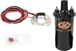 Pertronix 1168LS/40511 Lobe Sensor & Flame-Thrower - 40,000 Volts 1.5 Ohm Coil Kit for Delco 6 Cylinder