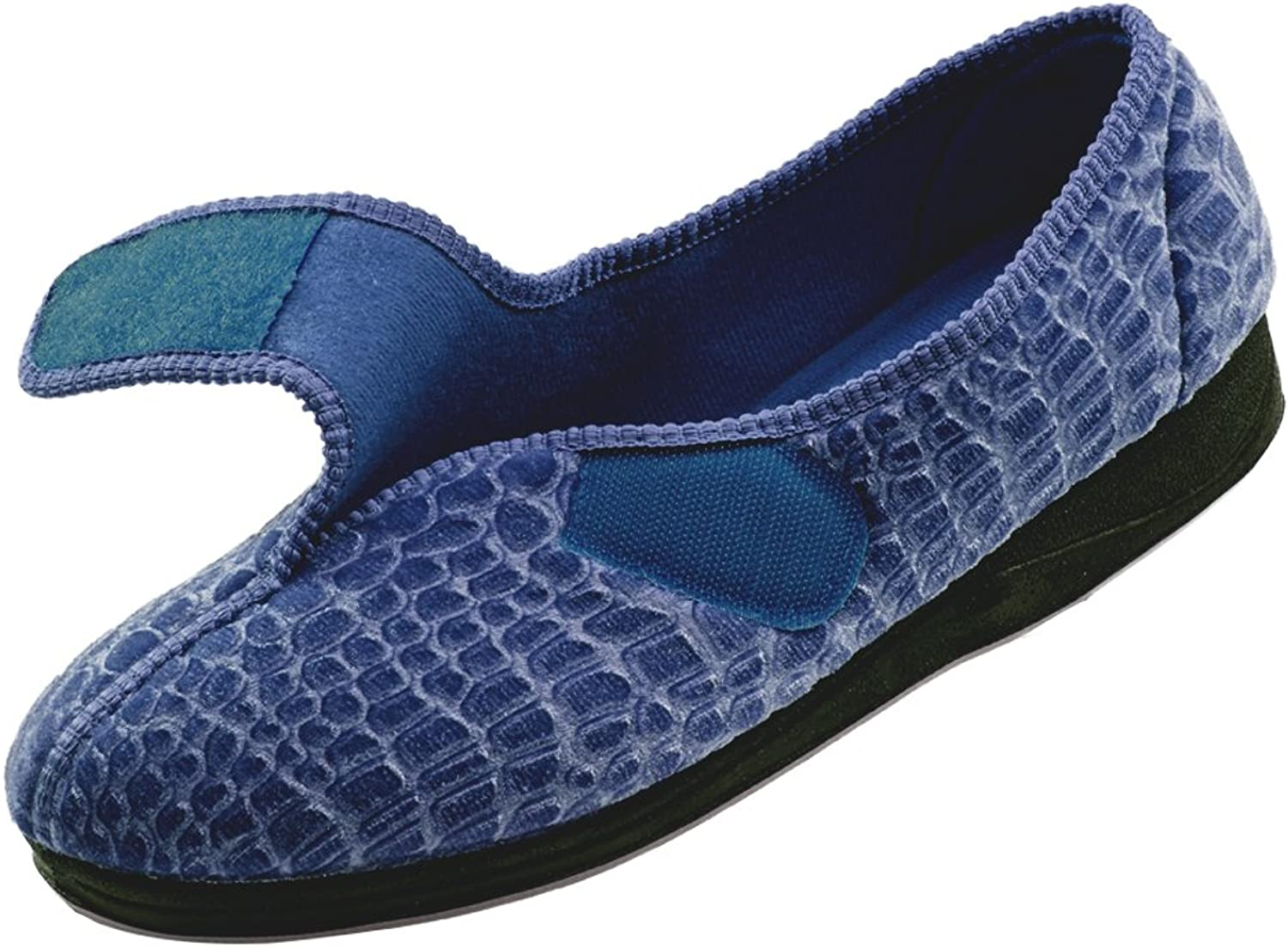 Silgreens Disabled Elderly Needs Womens Comfort Slippers - Wide - Womens House Slippers with