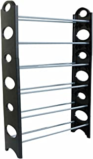 Jskjlkl 10 Tiers Shoe Rack Space Saving Portable Shoe Storage Organizer Cabinet for Entryway Bedroom 25.59 x 7.87 x 61.02