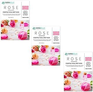 Mirabelle Korea Rose Sheet Mask Pack Of 3