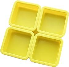 Ijsblokje 4 holte rechthoekige siliconen zeep schimmel handgemaakte zeep maken van ambacht voor thuis badkamer zeepvormen ...