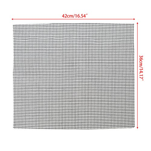Buy Bargain Tyjie BBQ Mesh Grill Mat Non-Stick Heat Resistant Roasting Cooking Pad Barbecue Tools Ba...