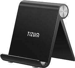 Tizum Multi Angle Portable Stand for All Smartphones, Tab & Kindle (Black)