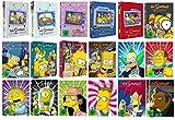 Die Simpsons Staffel 1-18 (1+2+3+4+5+6+7+8+9+10+11+12+13+14+15+16+17+18) [DVD Set]