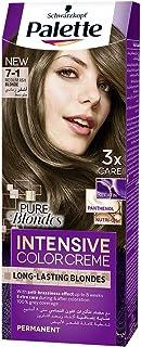 صبغة الشعر الدائمة كيميائية من باليت للنساء على هيئة كريم ، لون بني - 50 مل