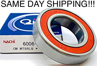 (Qty-1) 6006-2NSE NACHI Ball Bearing 6006-2RS 6006 RS Same Day Shipping !!!