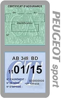 YYD Tapis antid/érapant de Surface de Cuir de 7.5Inch Tapis de Tapis de Tableau de Bord de Voiture de t/él/éphone CD dispositifs /électroniques,Peugeot