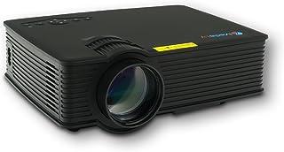 MediaLy GX90 LED Beamer Projektor Heimkinoprojektor Mini Videoprojektor Video Projektoren Videoprojektoren HD ready 3DHDMI HD Heimkino 800 Lumen in Schwarz