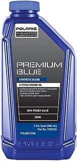 Polaris New OEM Premium Blue 2 Stroke Snowmobile Engine Oil (1 Quart), 2882201