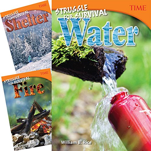Teacher Created Materials - TIME Informational Text: Counting on Survival - 3 Book Set - Grade 6 - Guided Reading Level V-W