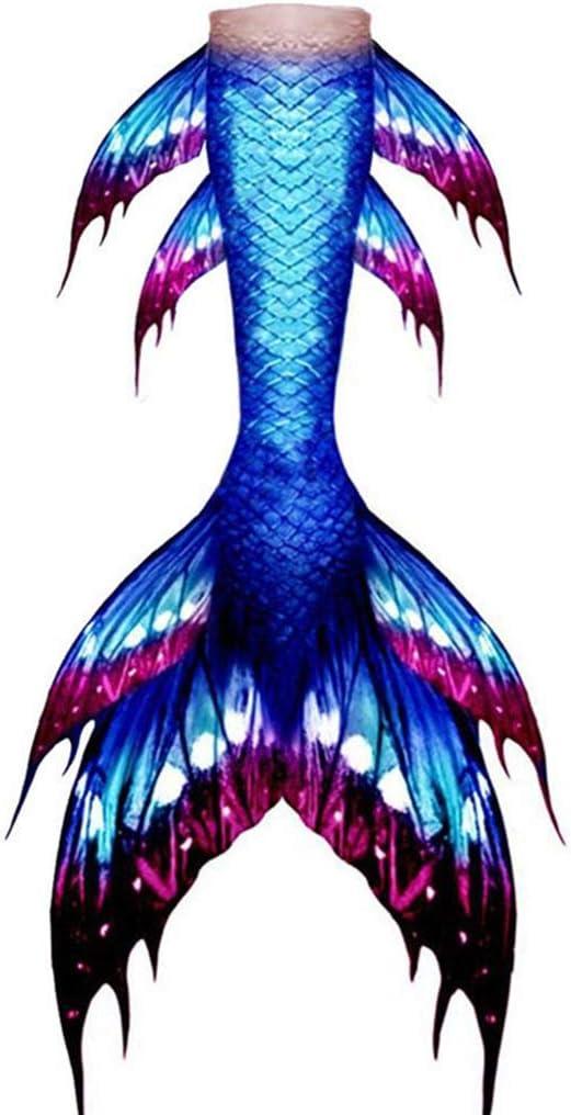 RTYU Girls Cosplay Costume Swimwear Mermaid Shell Swimsuit Bikin