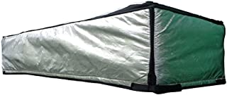 ThermoClimb Attic Door Insulation, Cover, Reflective Attic Stairway Insulator, Fireproof Tent Kit with Adjustable Straps, Zipper Opening, Prevents Heat Loss (54 x 25 x 13 Inches)