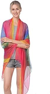 NovForth Silk Shawls and Scarf Women's Fashion Large Sunscreen Shawls Wraps
